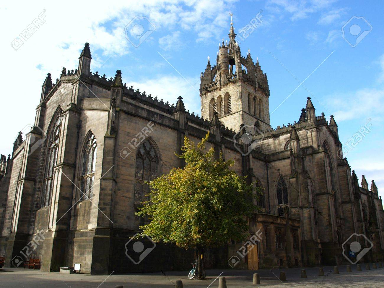 St Giles Cathedral in Edinburgh, Scotland, UK Stock Photo - 8011341