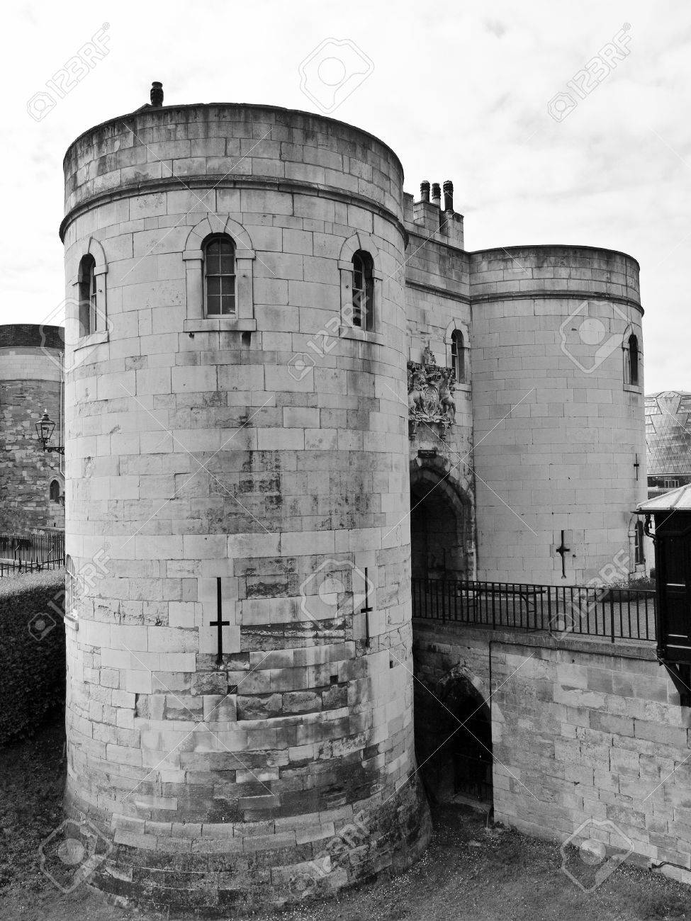 The Tower of London medieval castle and prison Stock Photo - 10426500