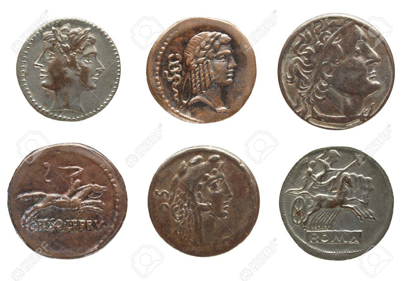 What did the ancient Romans use for money and why?