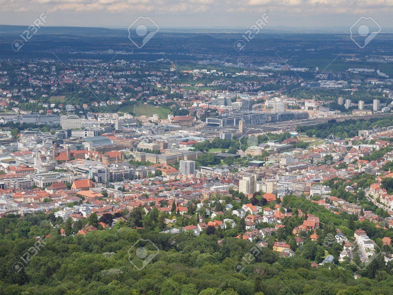 ドイツのシュトゥットガルト市内...
