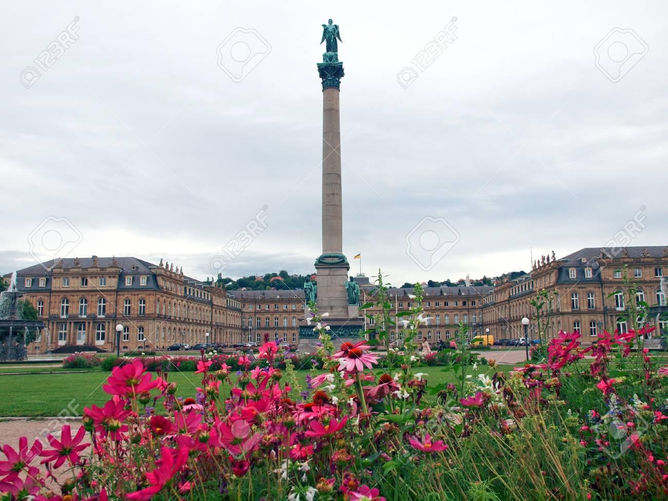 The Schlossplatz (Castle square) in Stuttgart, Germany Stock Photo - 15792595