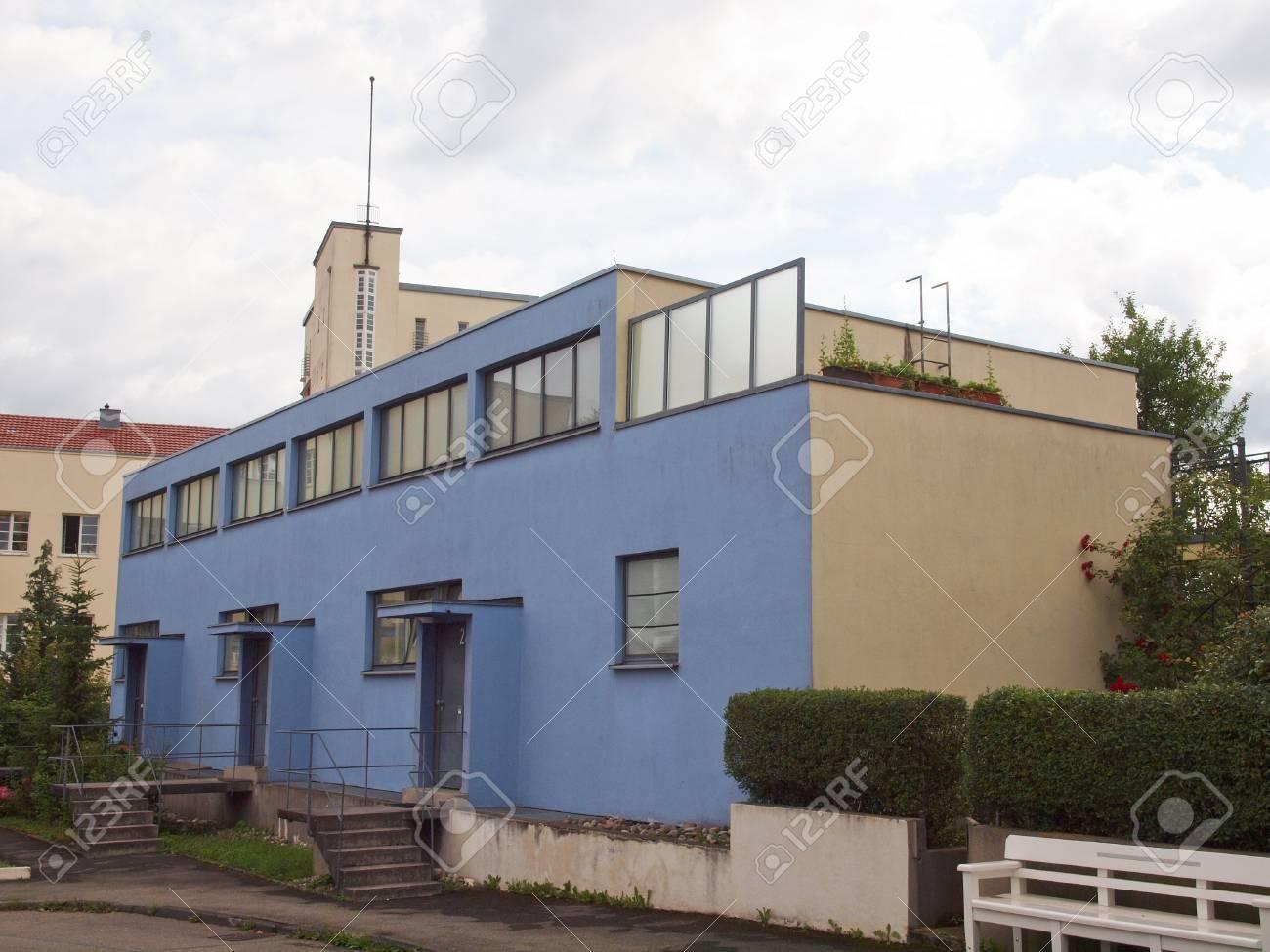 Weissenhof Siedlung model houses built in 1927 for the modern architecture exhibition in Stuttgart Stock Photo - 15792657