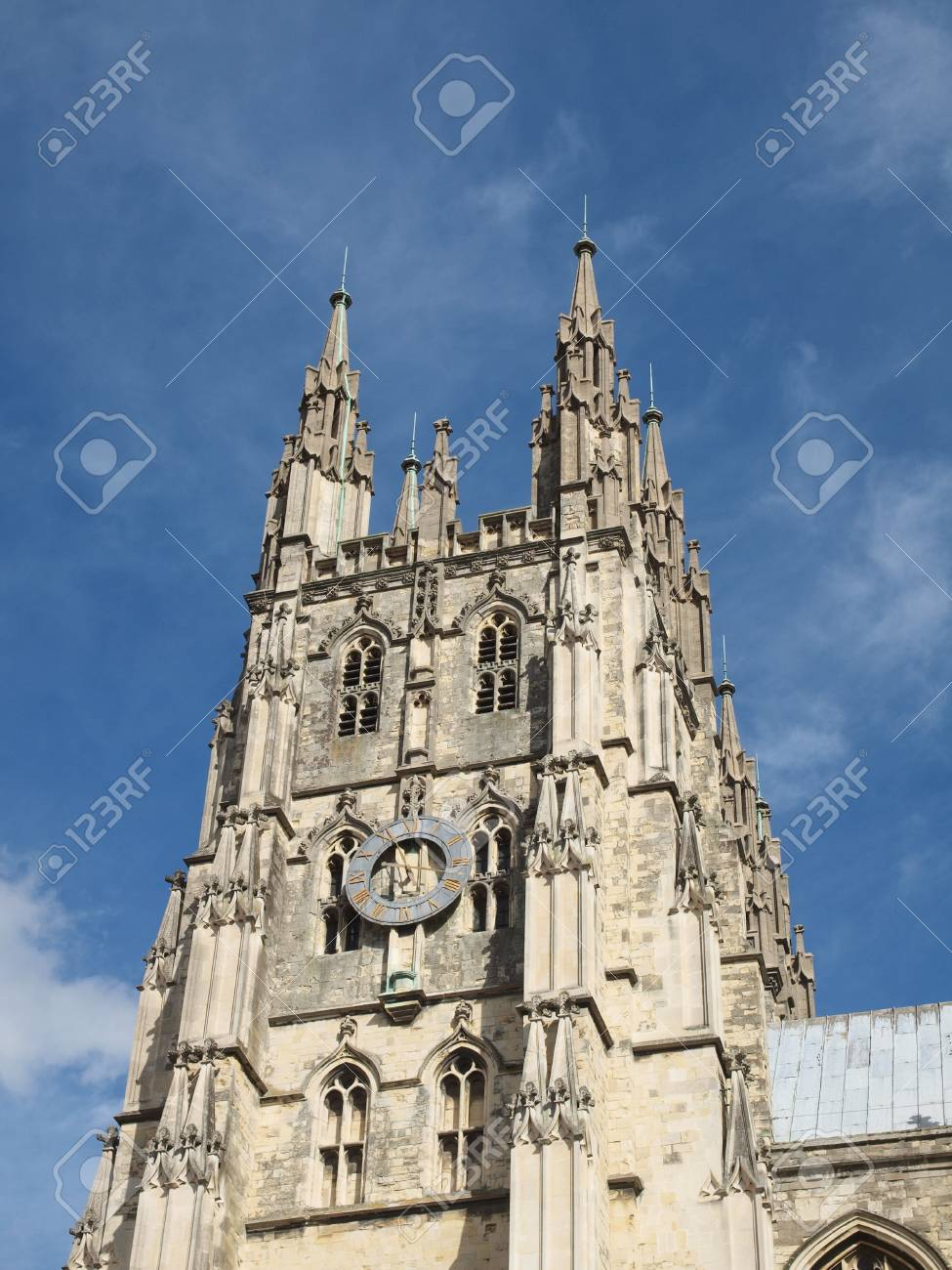 The Canterbury Cathedral in Kent England UK Stock Photo - 16818864