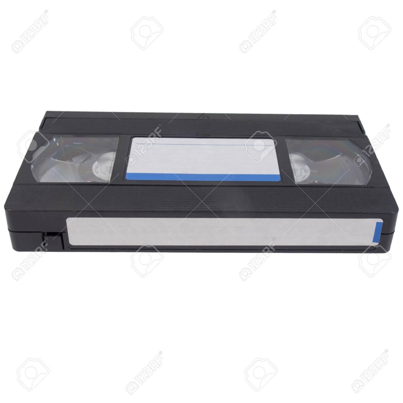 Vintage Vhs Cassette De Cinta Para La Grabacion De Video Fotos