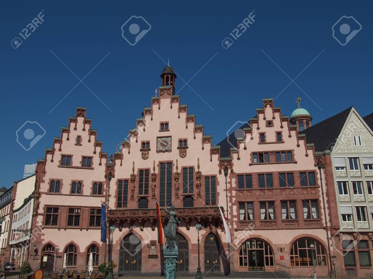 Frankfurt city hall aka Rathaus Roemer Germany Stock Photo - 20226751