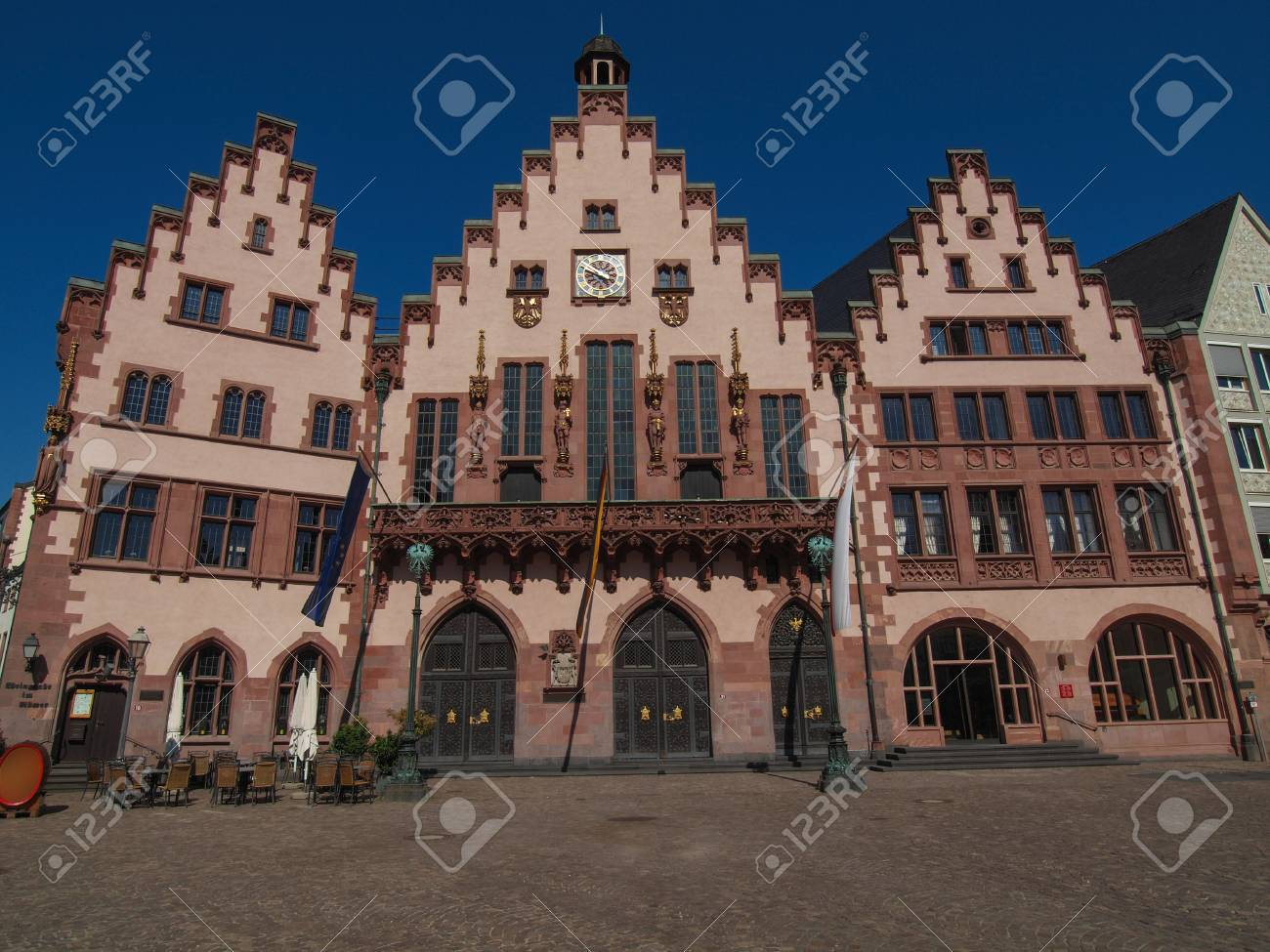 Frankfurt city hall aka Rathaus Roemer Germany Stock Photo - 20226606