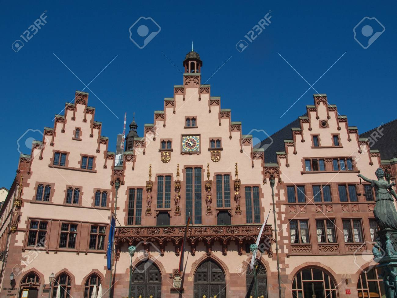 Frankfurt city hall aka Rathaus Roemer Germany Stock Photo - 20847315