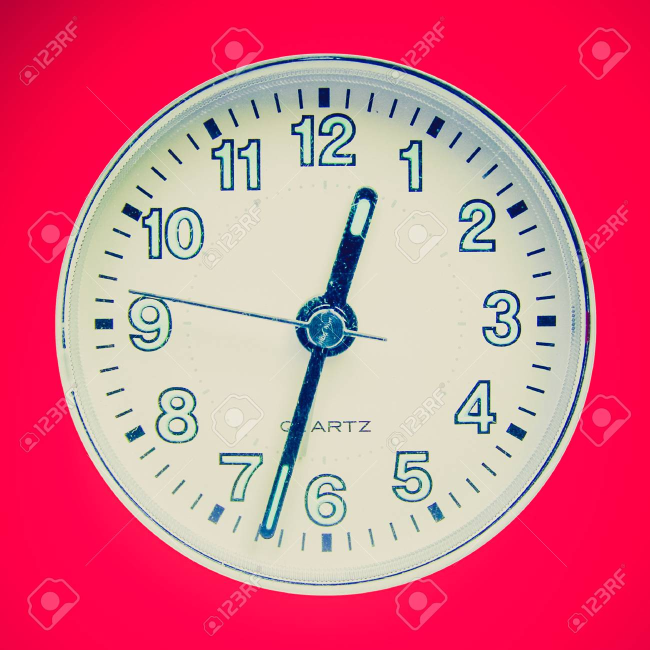 Vintage Looking Alarm Clock Stock Photo Picture And Royalty Free