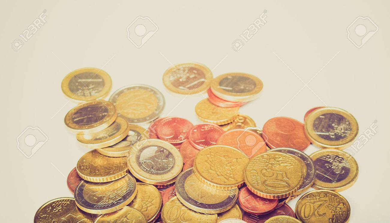 ユーロ硬貨 (欧州連合の通貨) を...