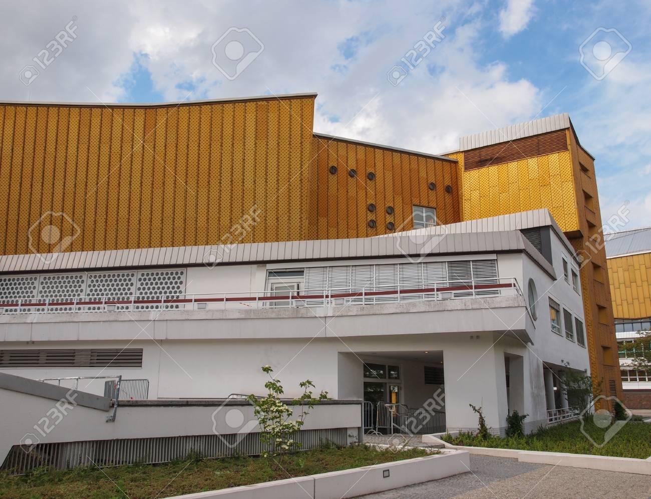 Berlin Allemagne 9 Mai 2014 La Salle De Concert Philharmonie De