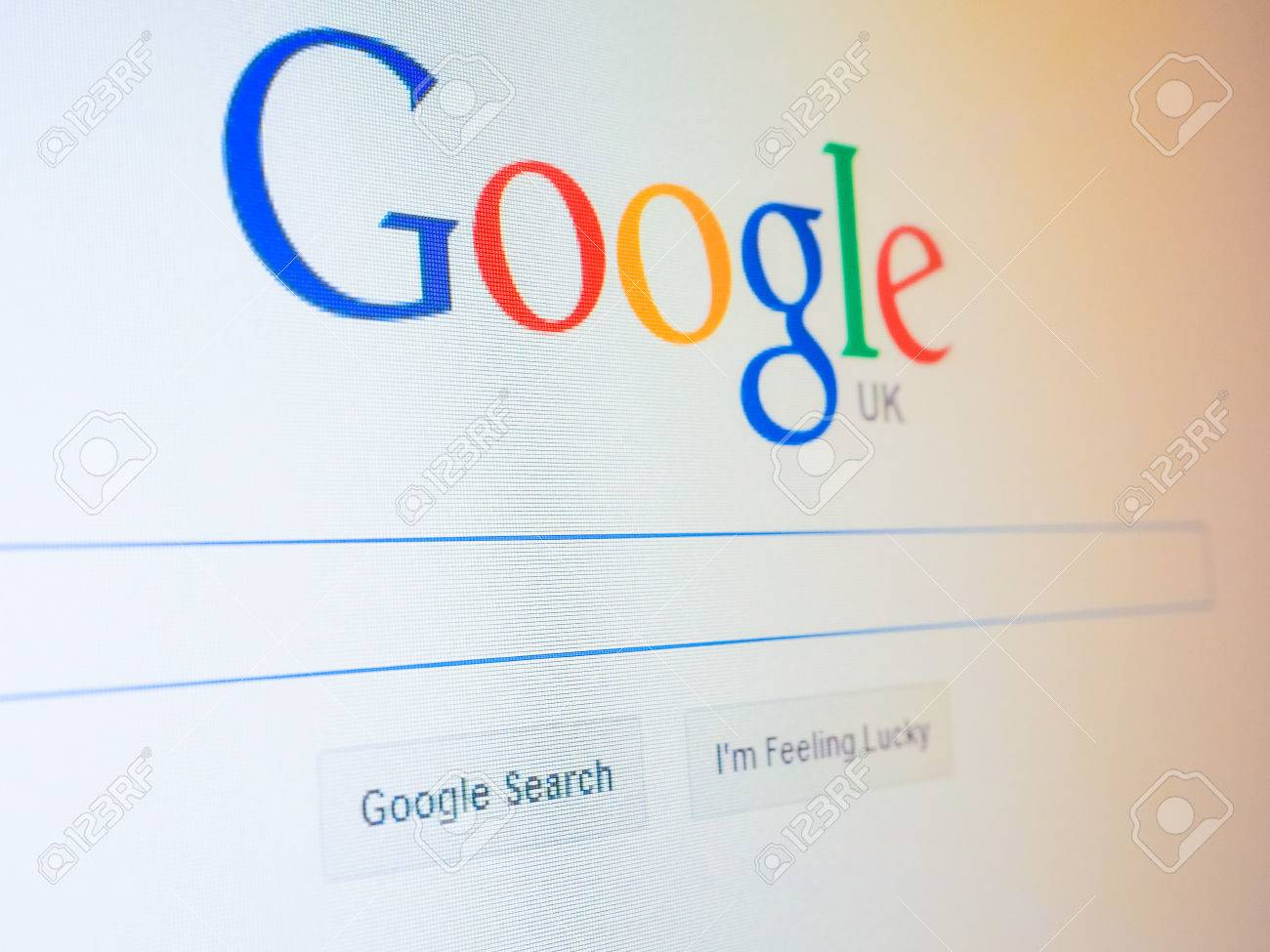 LONDON, UK - DECEMBER 15, 2014: Home Page Of Google Search Engine ...