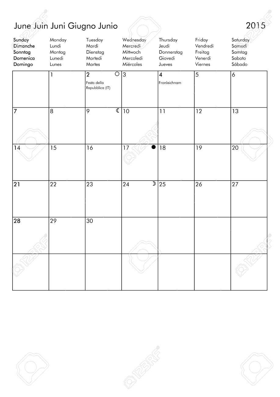 Ausgezeichnet 2015 Kalender Leere Vorlage Bilder - Beispiel Business ...
