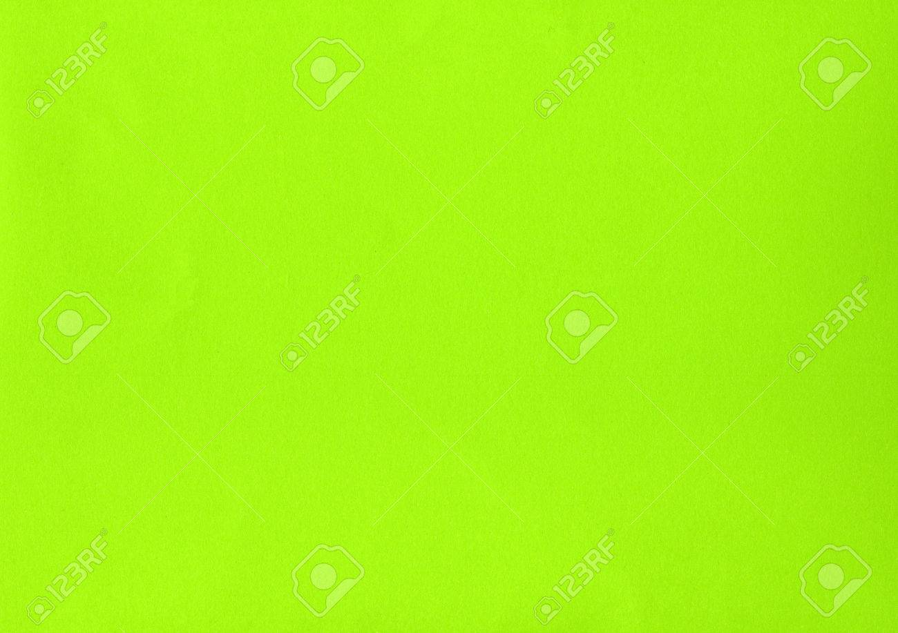 Yellow green colour paper useful as a background Stock Photo - 38156826