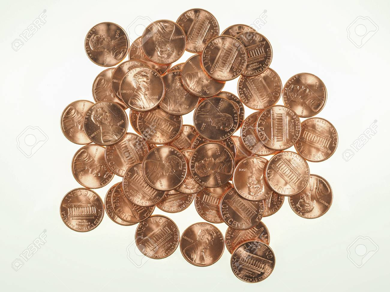 Dollar Coins 1 Cent Wheat Penny Cent Currency Of The United States