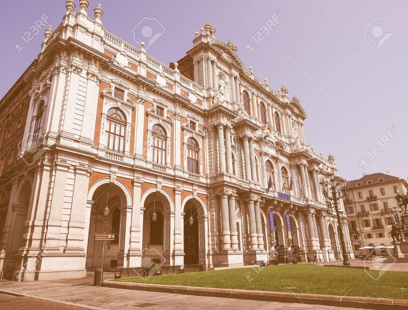 Museo Nazionale Del Risorgimento Italiano.Turin Italy August 05 2015 The National Museum Of The Italian