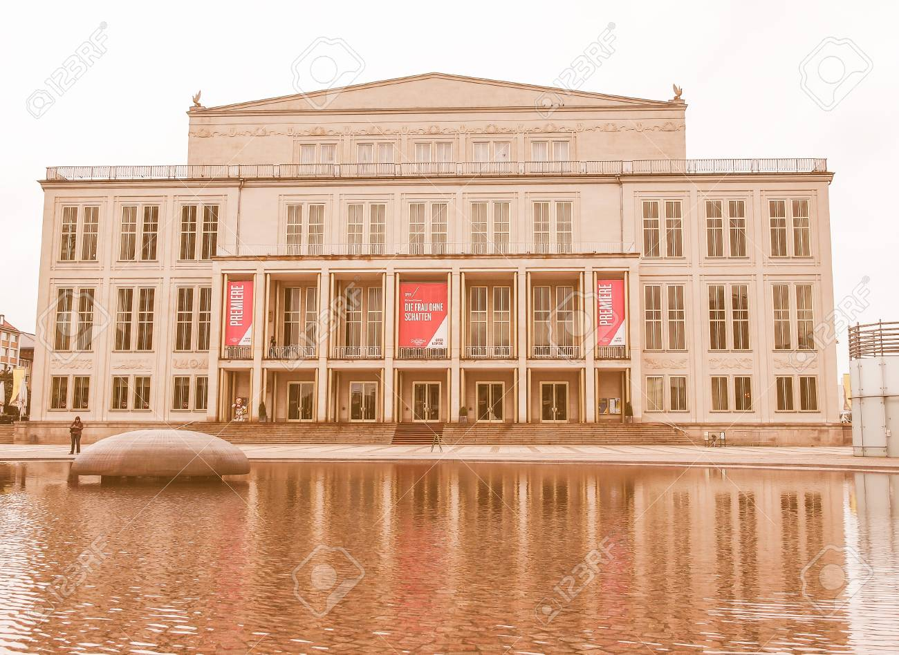 Leipzig Germany June 14 2014 The New Opera House Built In Stock Photo Picture And Royalty Free Image Image 53491393