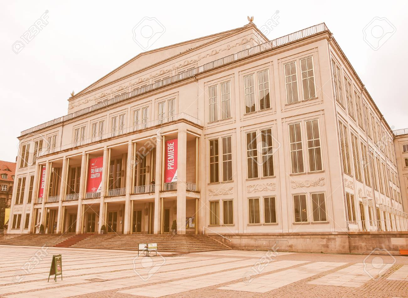 Leipzig Germany June 14 2014 The New Opera House Built In Stock Photo Picture And Royalty Free Image Image 53491596