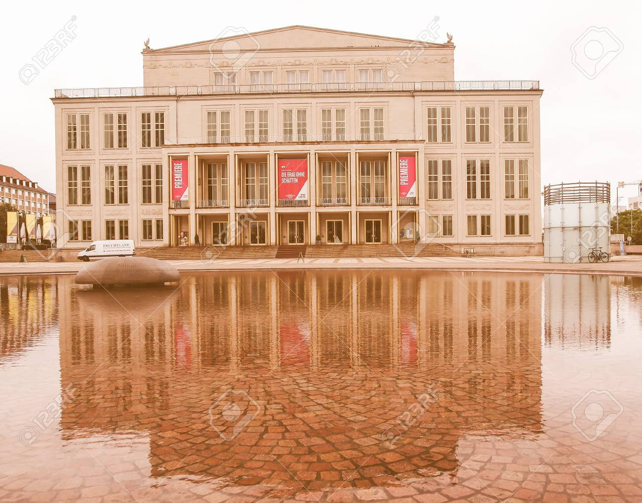 Leipzig Germany June 14 2014 The New Opera House Built In Stock Photo Picture And Royalty Free Image Image 54389779
