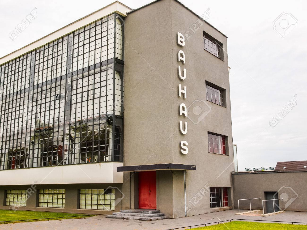dessau germany june 13 2014 the bauhaus art school iconic