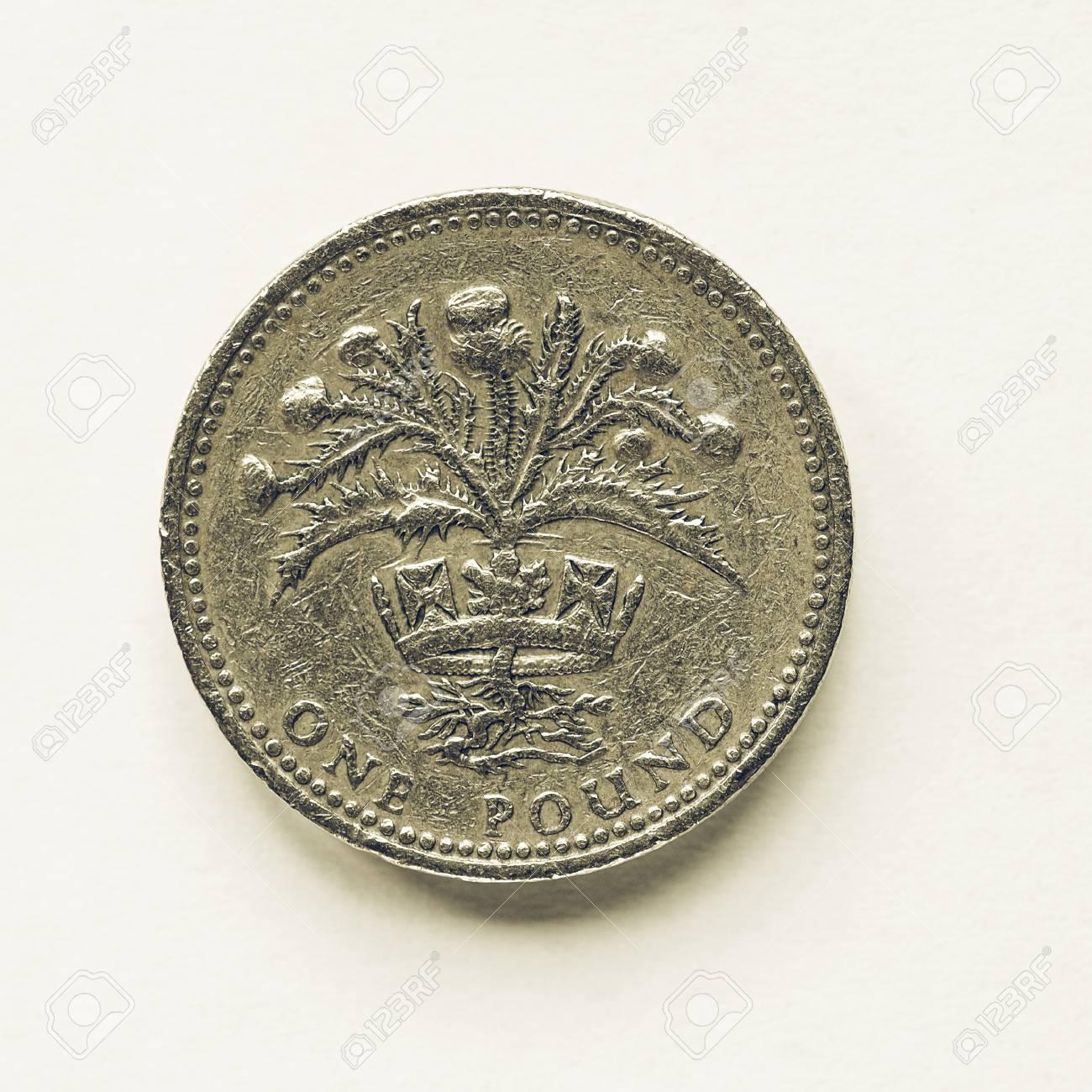 Jahrgang Suchen Währung Des Vereinigten Königreichs 1 Pfund Münze