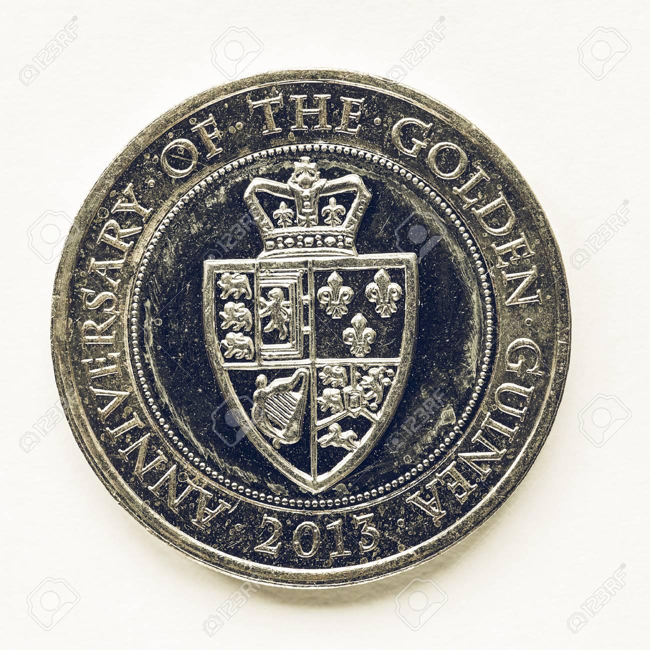 Jahrgang Suchen Währung Des Vereinigten Königreichs 2 Pfund Münze