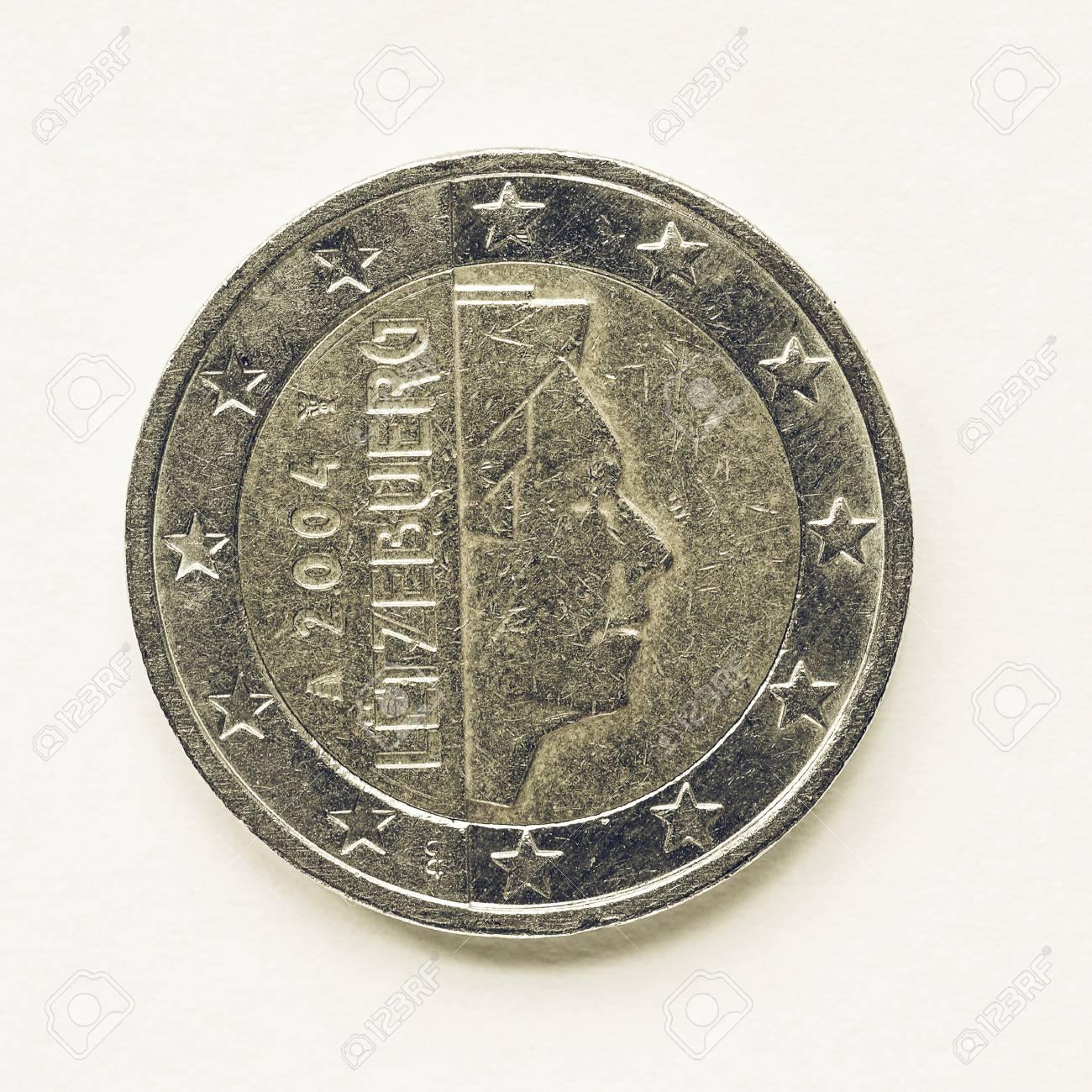ルクセンブルクから 2 ユーロ硬...