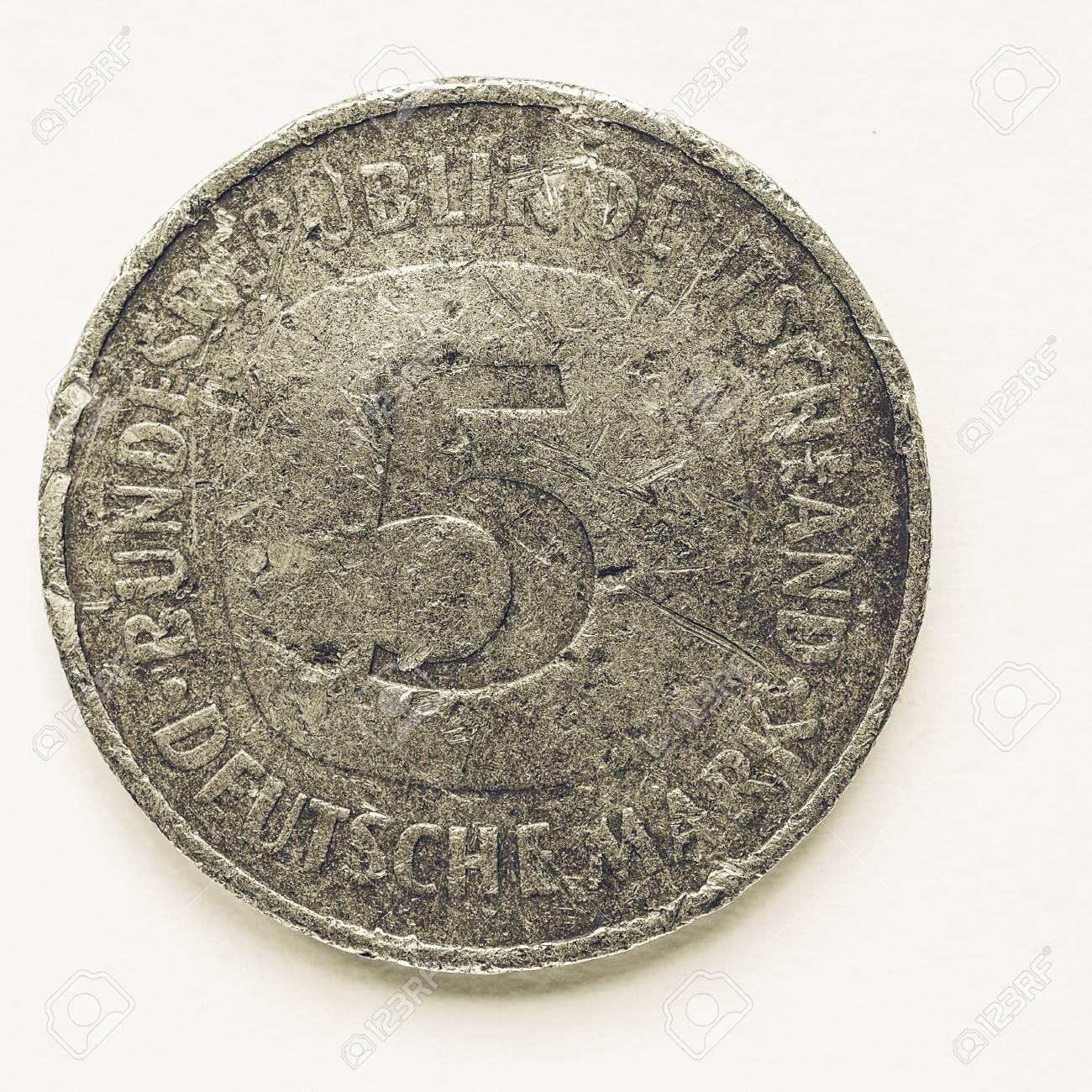 Jahrgang Suchen Altdeutschen 5 Mark Münze Aus West Deutschland