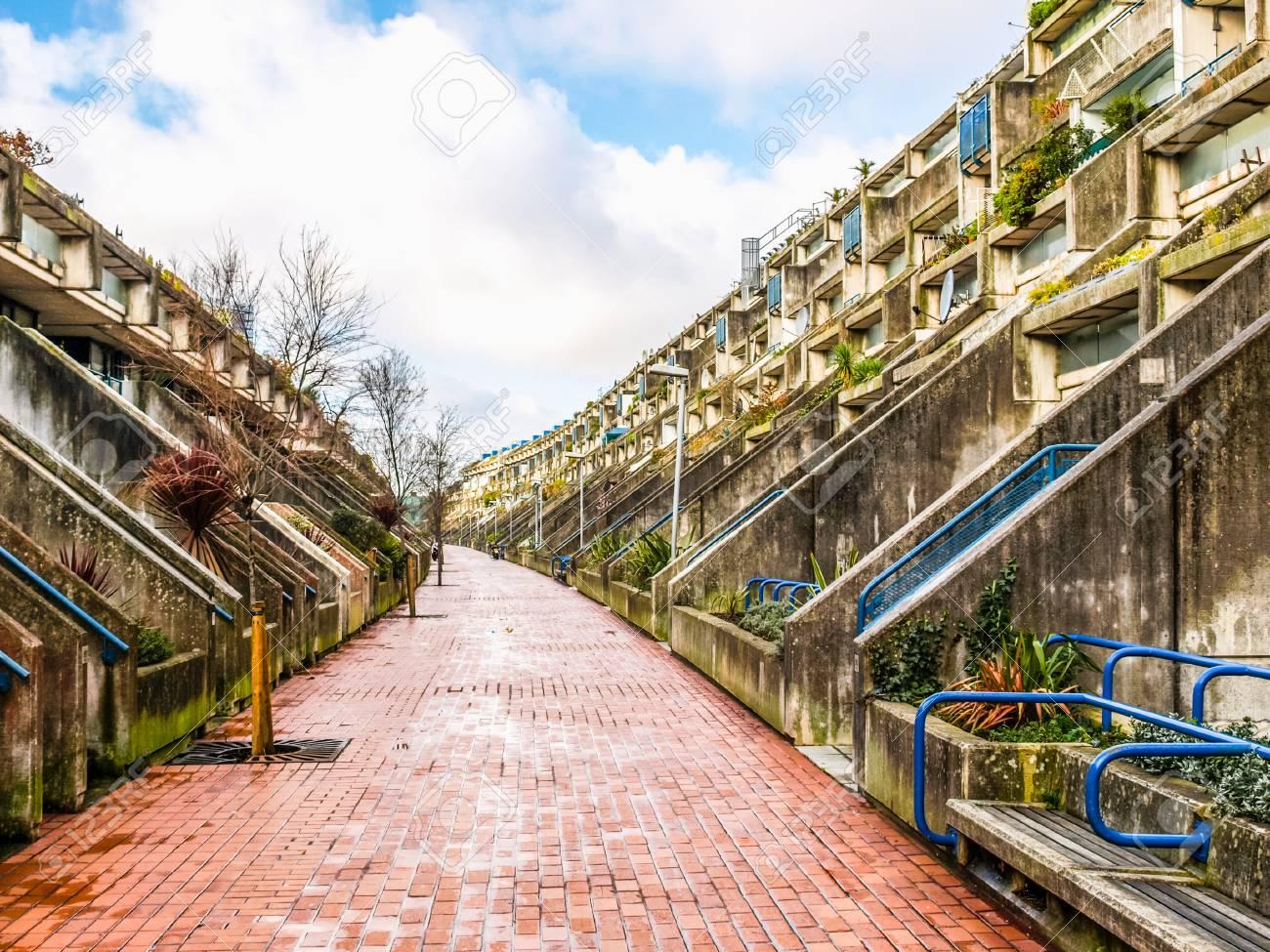 März 2009: Die Im Jahr 1968 Von Neave Brown Entworfen Alexandra Road  Anwesen Reihenhaus Modell Mit Hoher Dichte öffentlichen Wohnungsbau Ist Ein  Meisterwerk ...