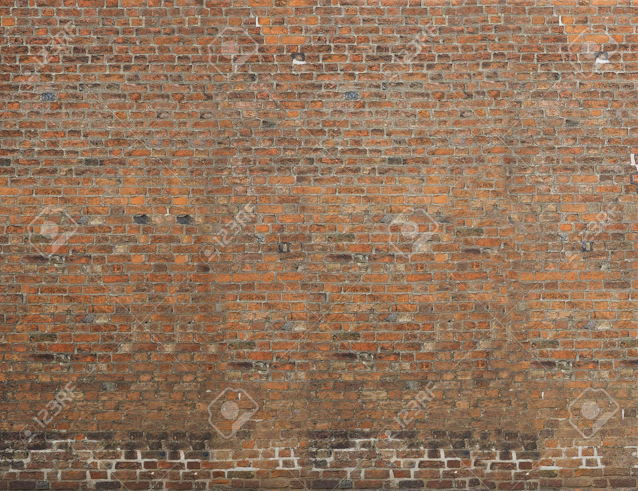 red brick wall useful as a background - 155842862