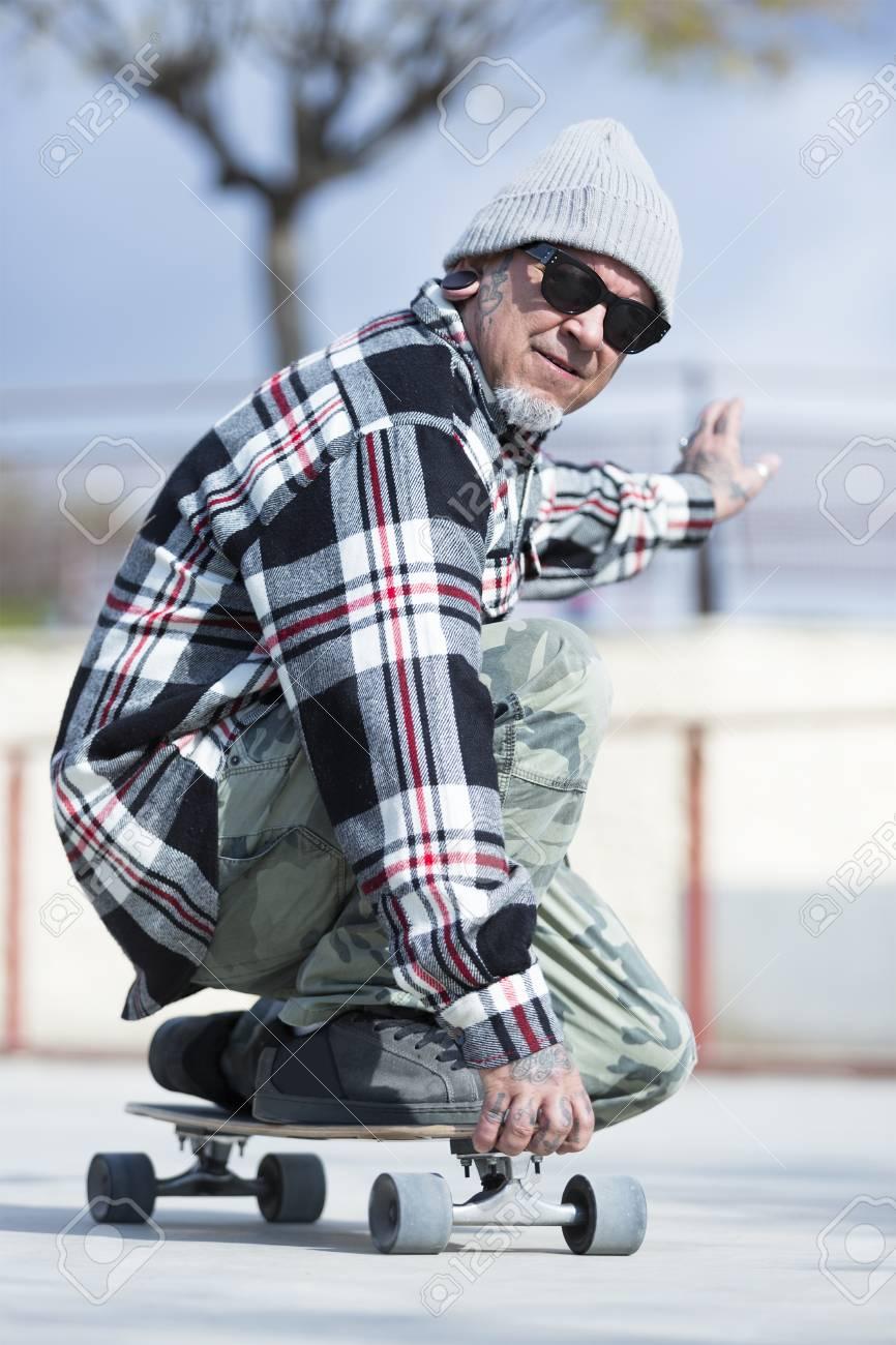 Skater man