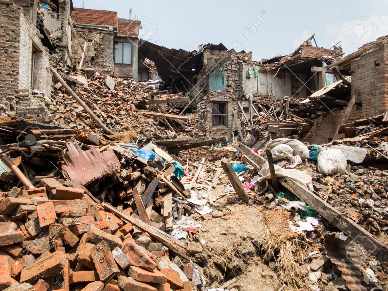 Nepal Earthquake which occurred on April 25 and May 12 of 2015. - 43513659