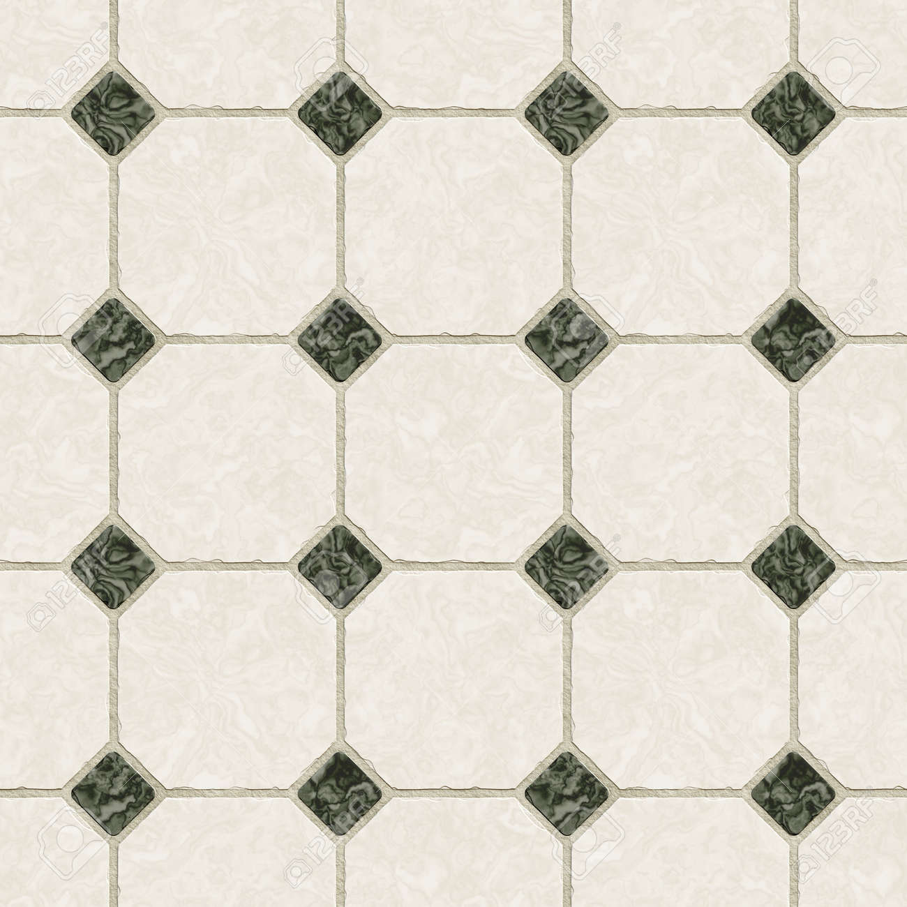 A Seamless Tiling Texture. Illustration Of An Area Of Floor Tiles ...