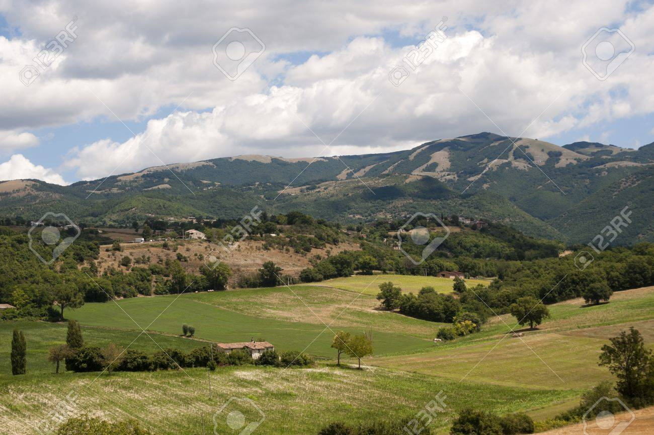 le latium paysage