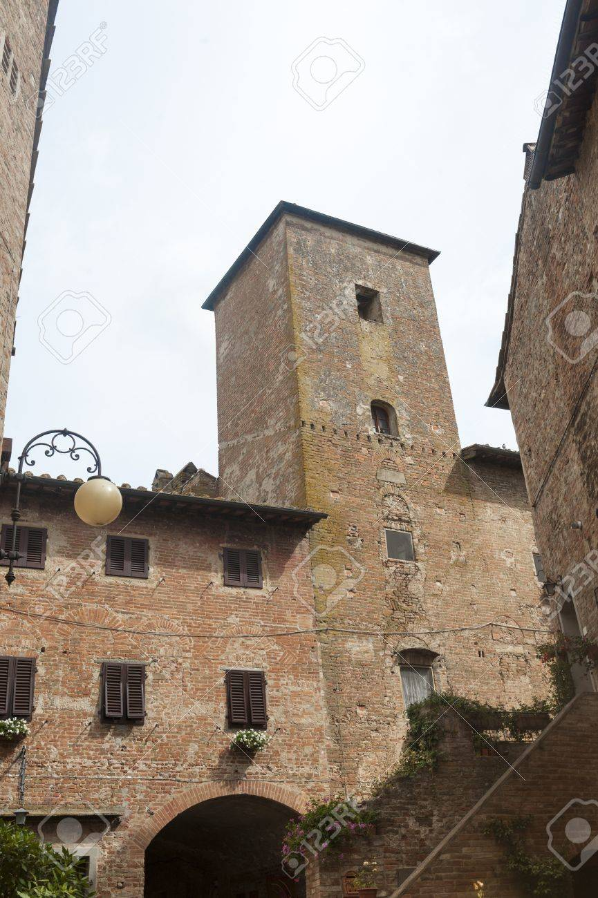 Old buildings of Certaldo  Florence, Tuscany, Italy  Stock Photo - 13182500