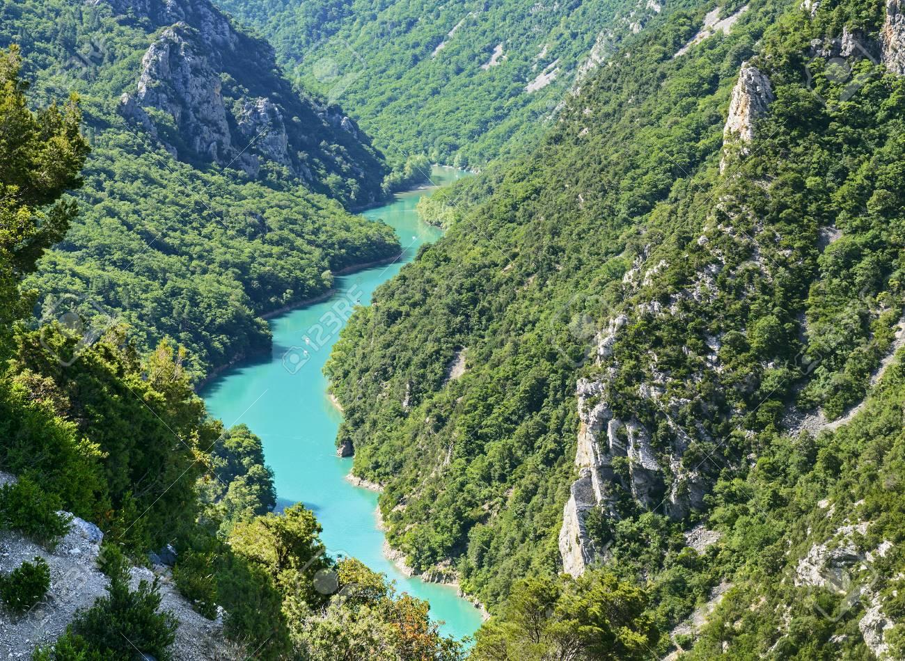 Gorges Du Verdon (Alpes-de-Haute-Provence, Provence-Alpes-Cote.. Stock  Photo, Picture And Royalty Free Image. Image 22613102.