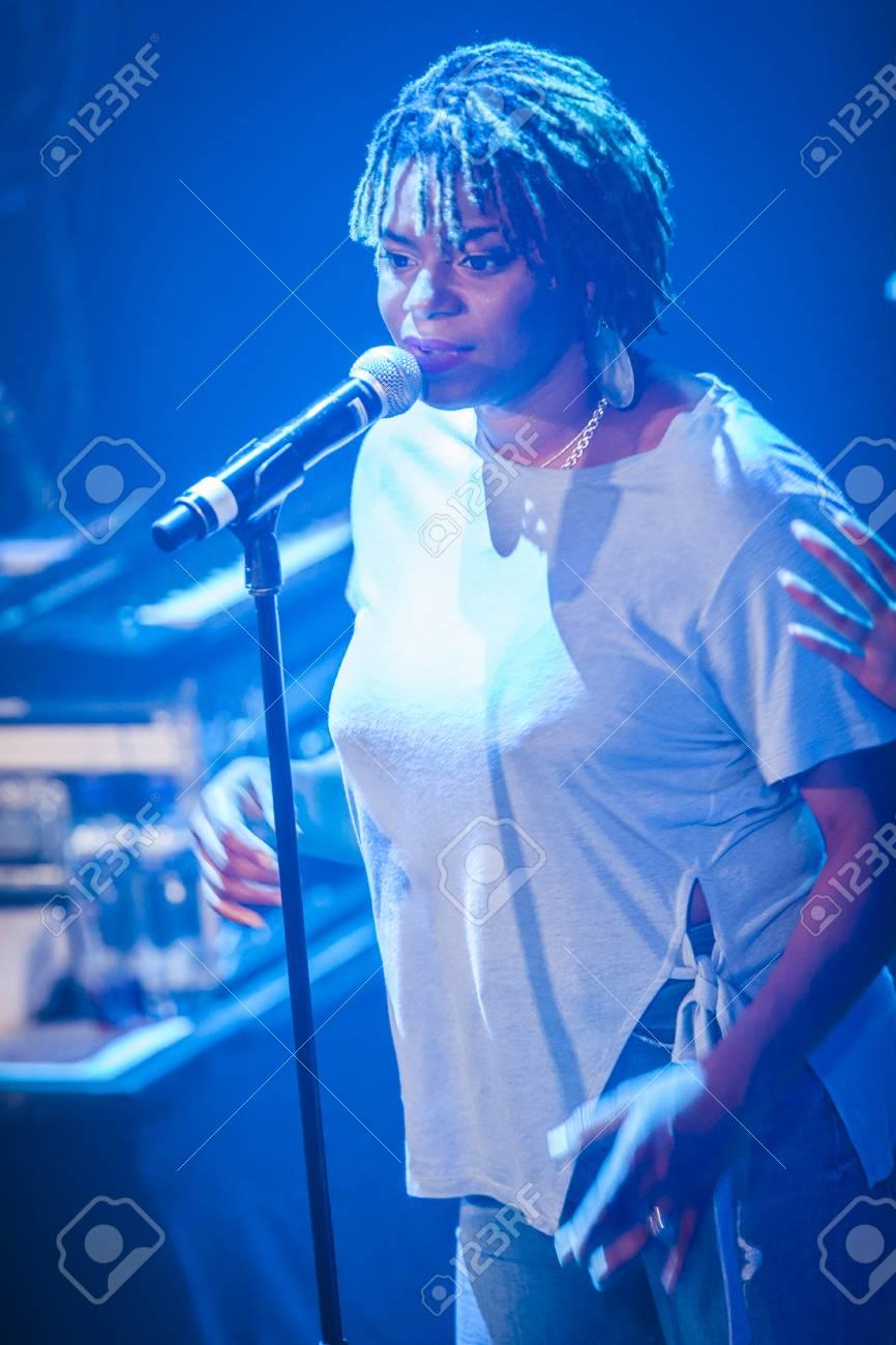 Amsterdam, The Netherlands - July, 1 2016: concert of reggae