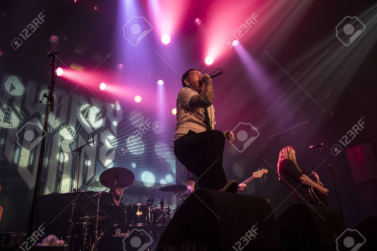Amsterdam, The Netherlands - March 19, 2017: Support act with