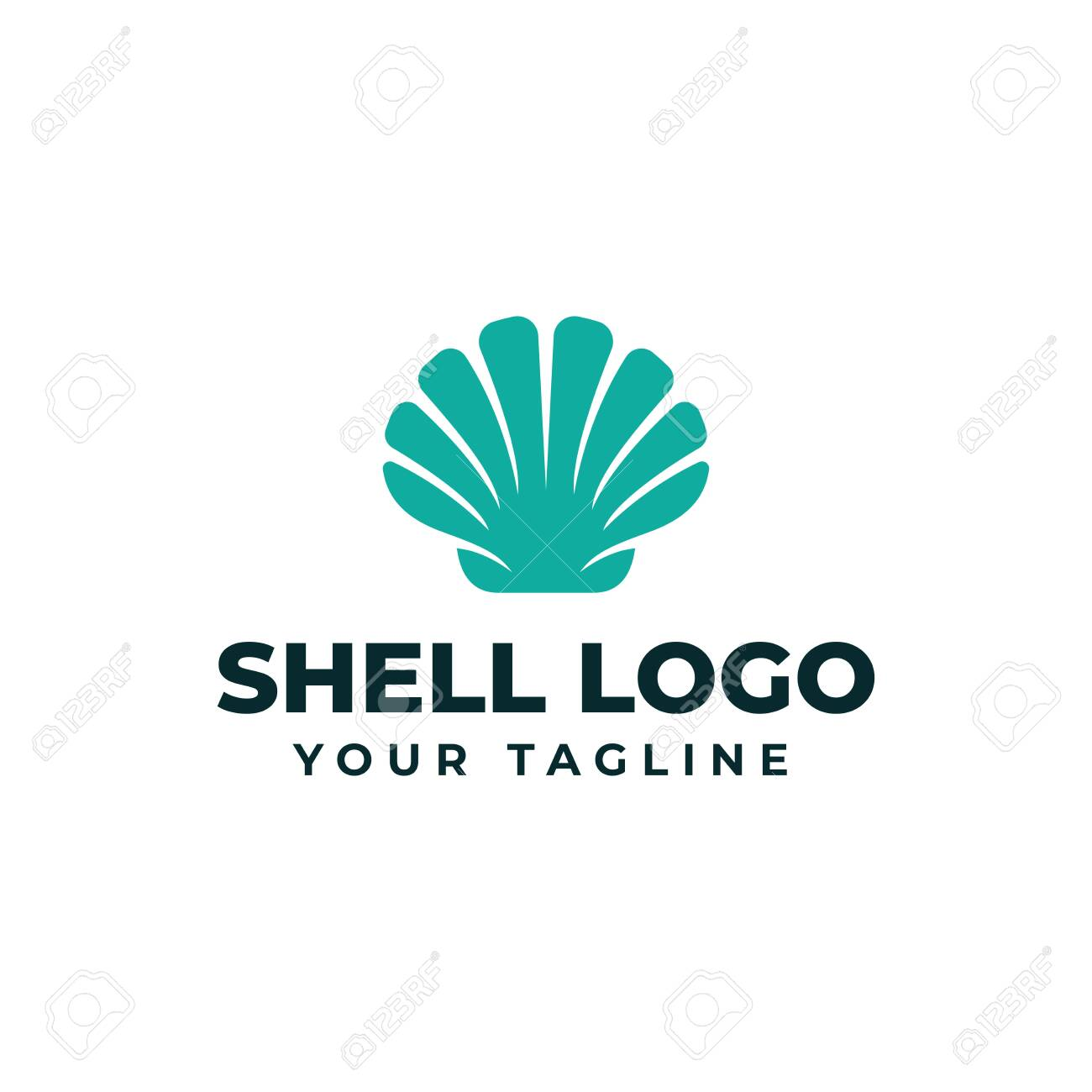 Sea Shell Pearl Oyster Seafood Restaurant Logo Design Template Royalty Free Cliparts Vectors And Stock Illustration Image 133737178
