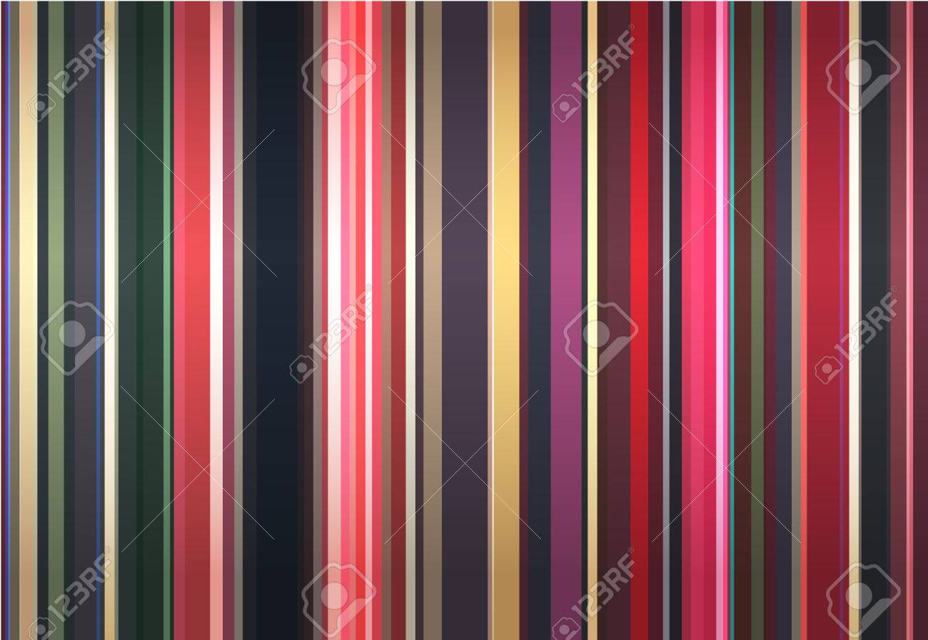 Stylish background from color strips. Stock Vector - 4369751