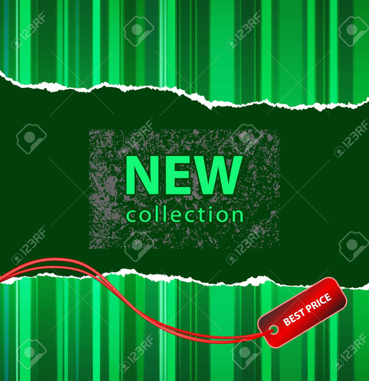 Vector style design for a fashion new collection or marketing action Stock Vector - 5137838