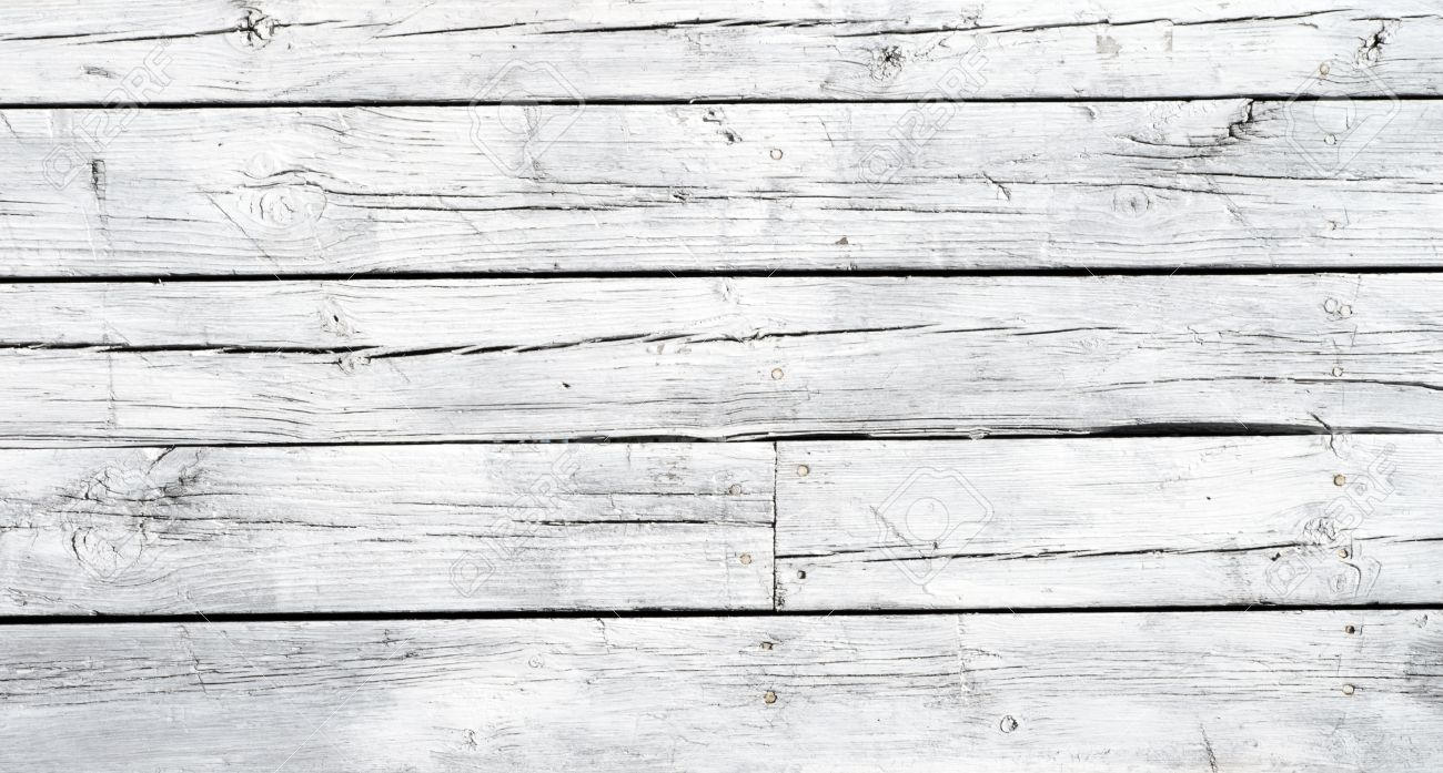 A Background Of Weathered White Painted Wood Stock Photo   9641559