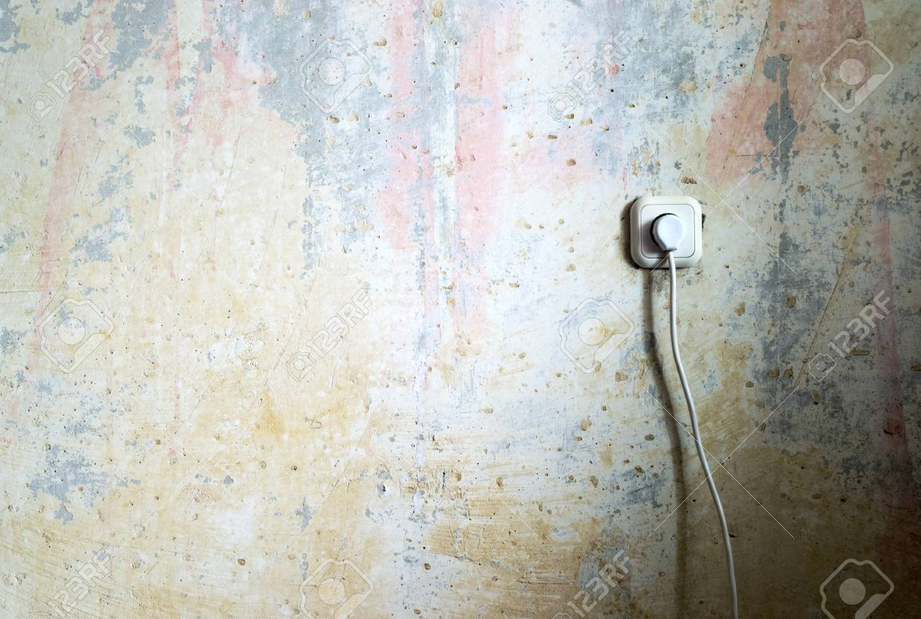 Socket in old room Stock Photo - 13779724