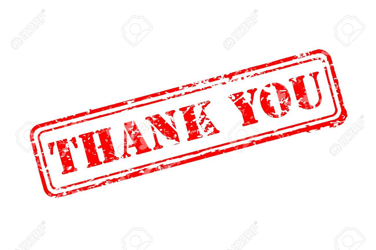 thank you rubber stamp royalty free cliparts vectors and stock