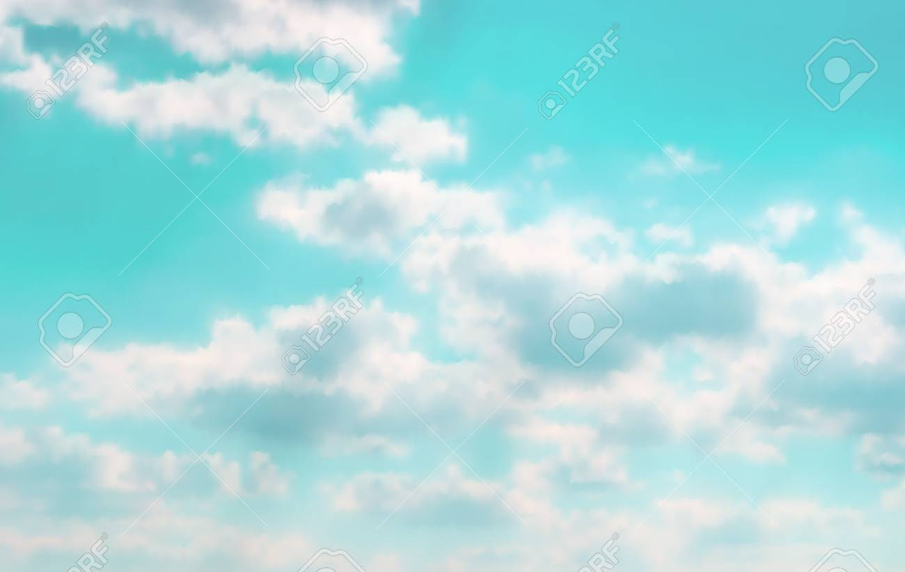 Beautiful cloudscape illustration. Used mesh layers Stock Vector - 20639275