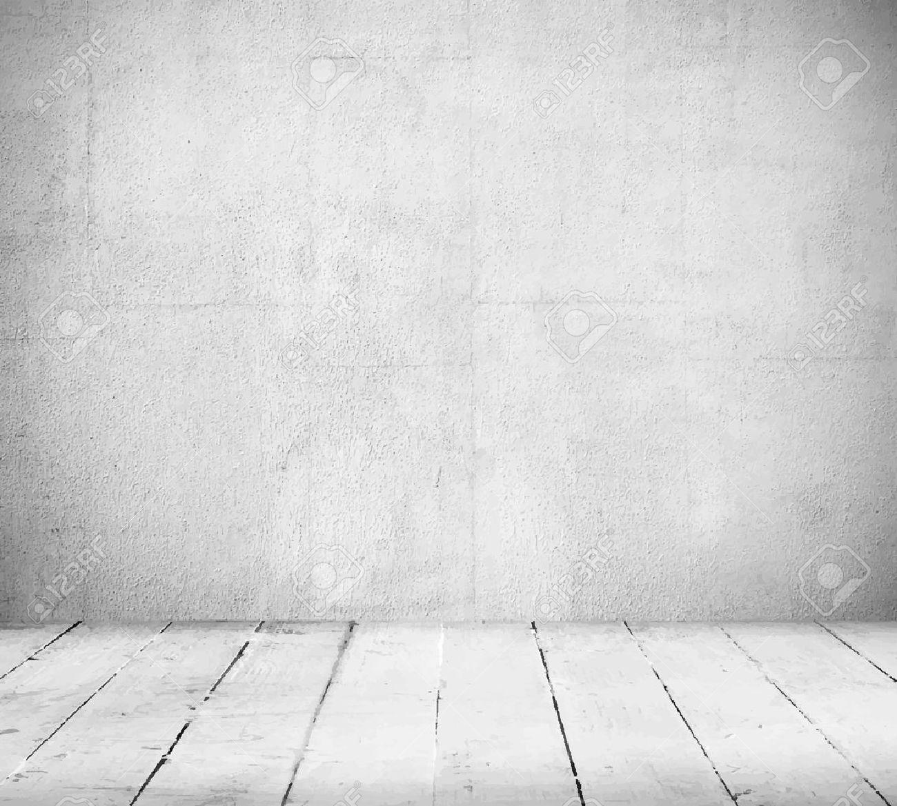 Intérieur, le fond de cru de mur en pierre et sol en bois
