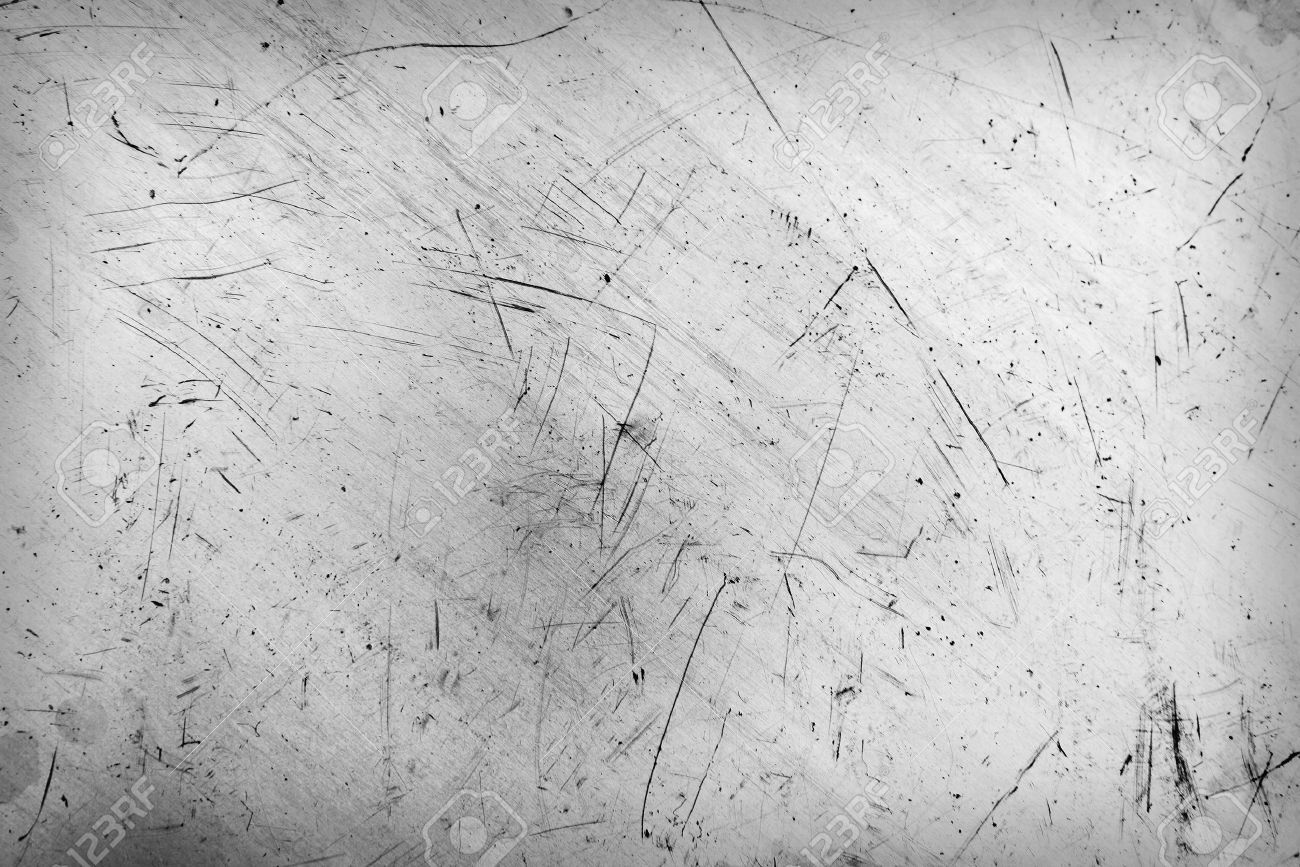 Scratched and spotted a metal aluminium sheet - 47193413