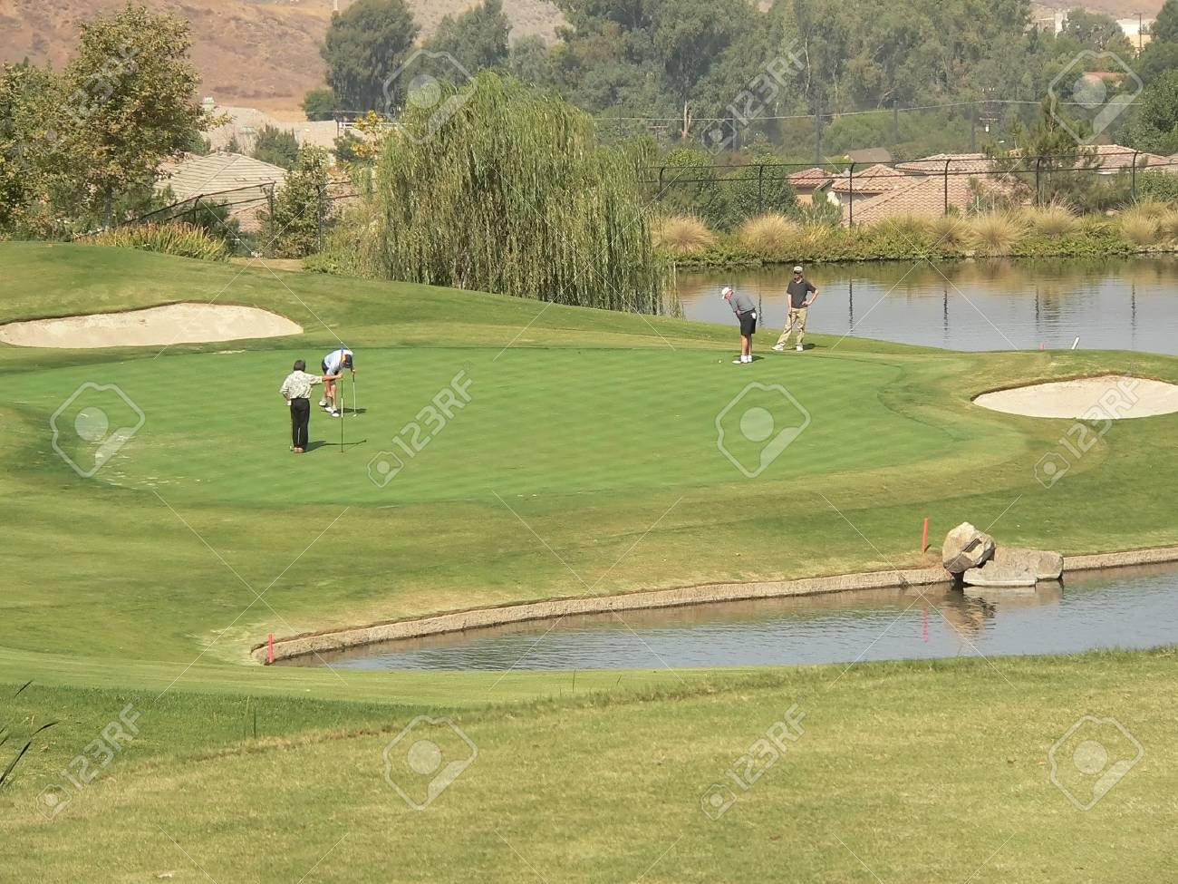 Golf Course and Tournament Stock Photo - 544493