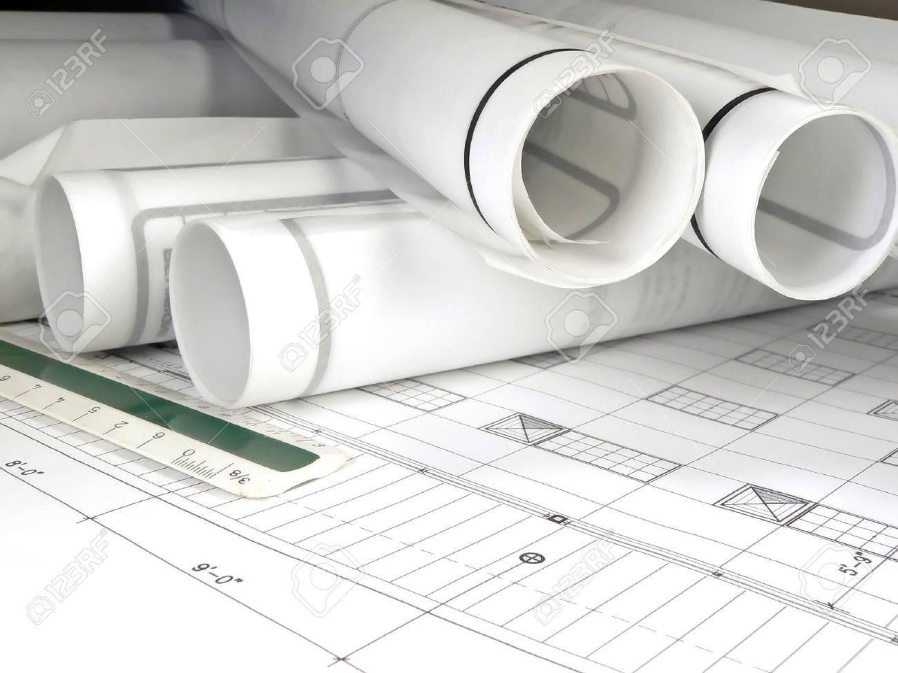 Blueprints Stock Photo - 614378