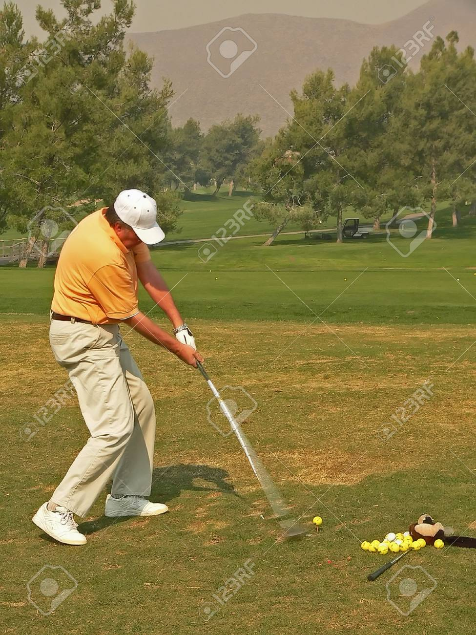 Golf Course Action Stock Photo - 619782