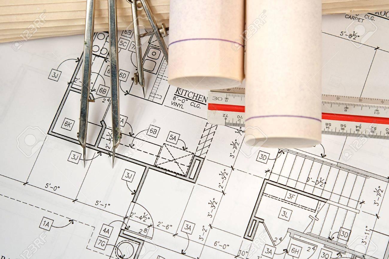 Architektonische entwürfe der neuen heimat und gemeinden lizenzfreie bilder 5452347